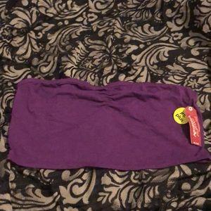 Purple tube top (1x)